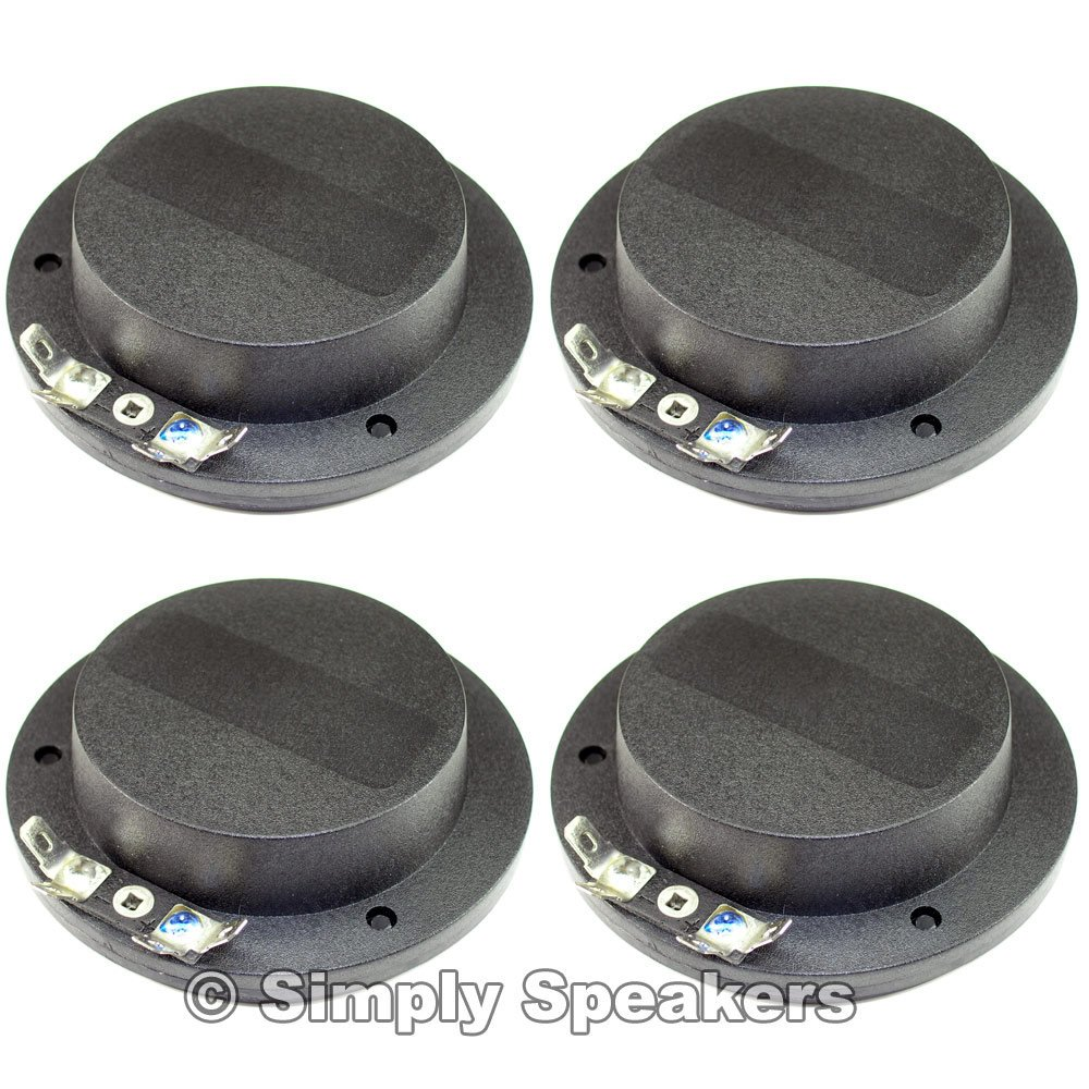 SS Audio Diaphragm for Eminence Horn Driver PSD2002-16, 16 Ohm, D-101AFT-16 (4 PACK)