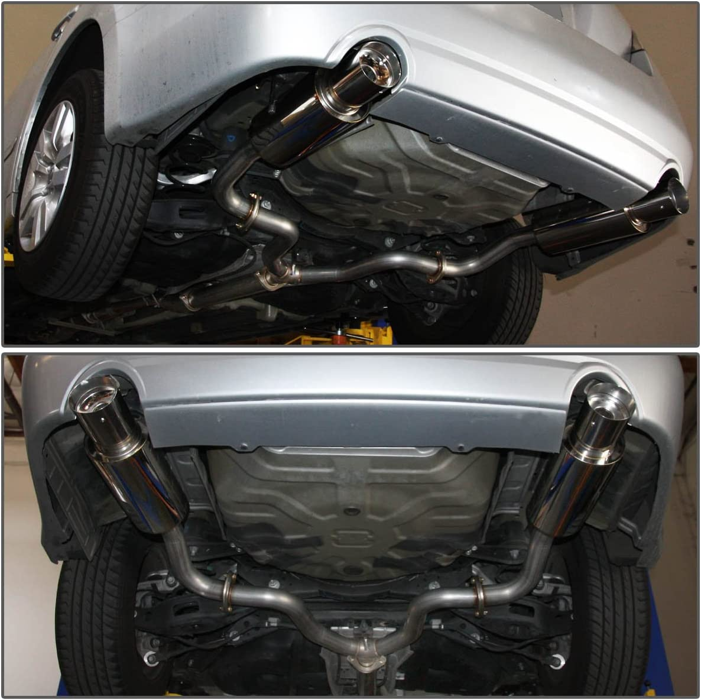 for 07-12 Nissan Altima V6 DNA Motoring CBE-NA07V6 Round CBENA07V6 Catback Exhaust System