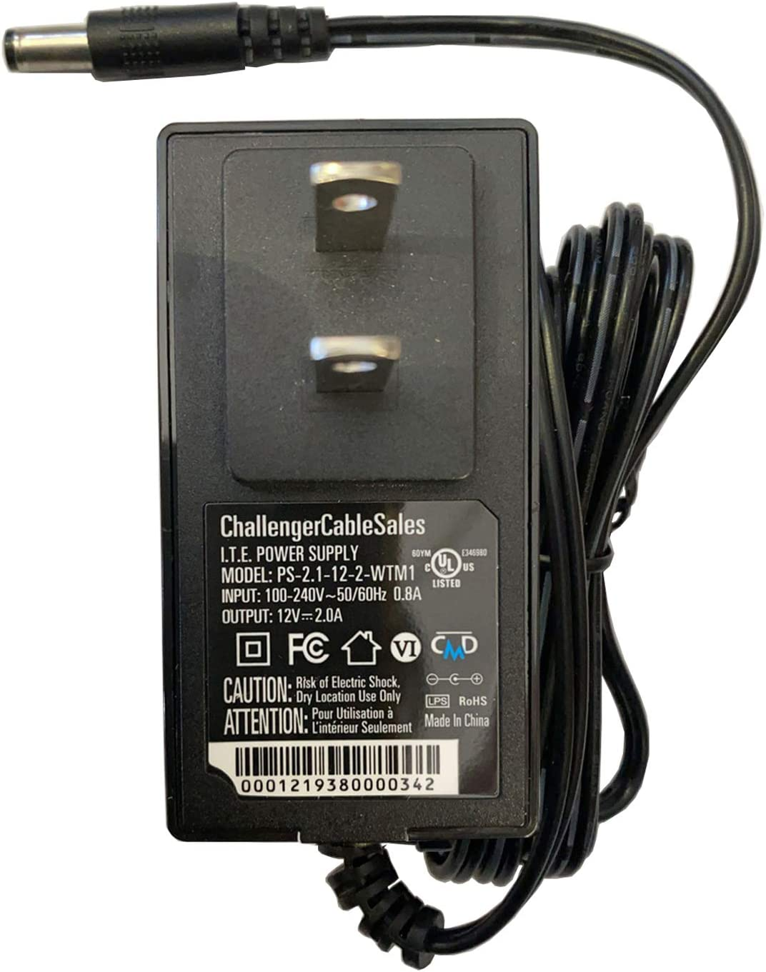 Power Supply Adapter for Seagate FreeAgent Desk Hard Drive