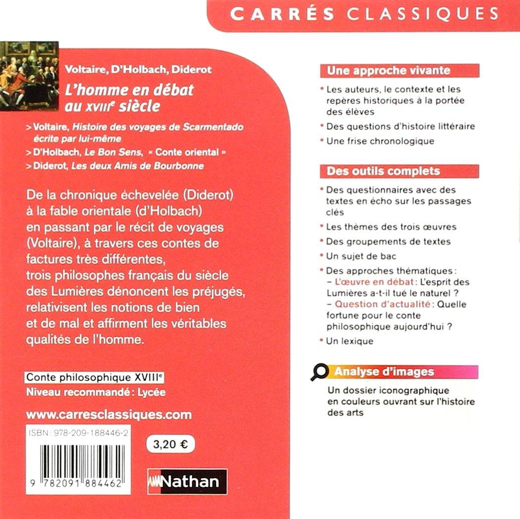 Lhomme en débat au XVIIIe siècle : Anthologie: Christian Denis: 9782091884462: Amazon.com: Books