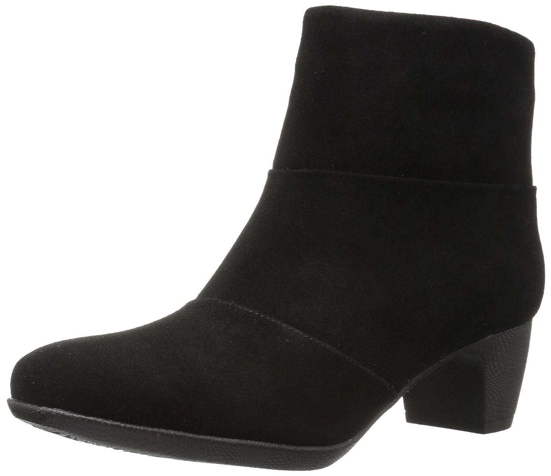 SoftWalk Women's Inspire Ankle Bootie B01MZ26E3T 11 N US Black