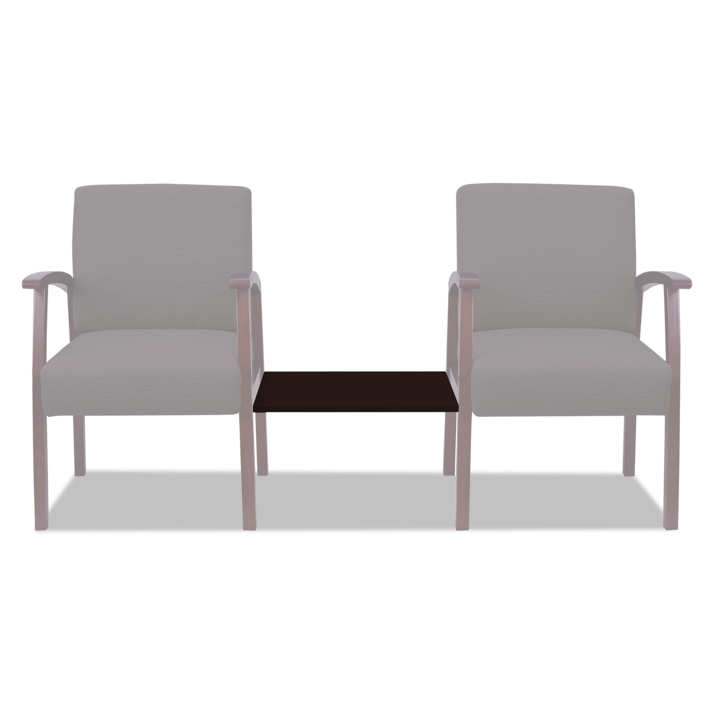 Alera ALERL7619M Reception Lounge 700 Series Ganging Table, 18 7/8 x 21 5/8, Mahogany