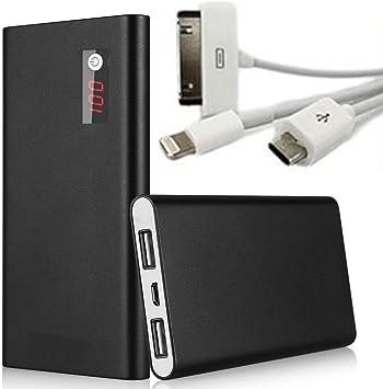 100000 mAh LCD Power Bank Cargador de batería externa universal ...