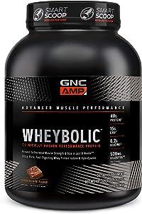 GNC AMP Wheybolic - Chocolate Fudge