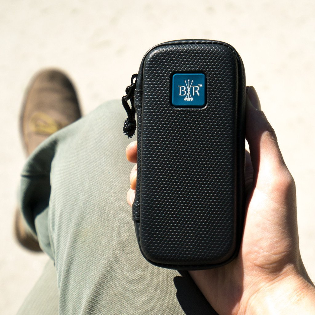 Black Rock Originals Smell Proof Safety Case 2.0 - Complete Smoke & Vape Kit (Slate)