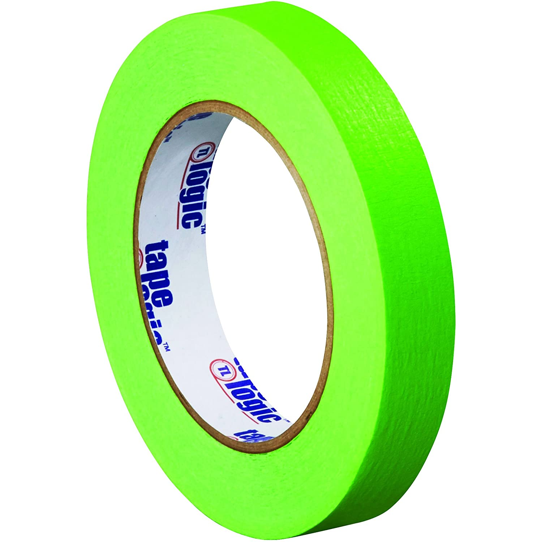 Light Green 3//4 x 60 yd 3//4 x 60 yd Partners Brand PT93400312PKA Tape Logic Masking Tape Pack of 12