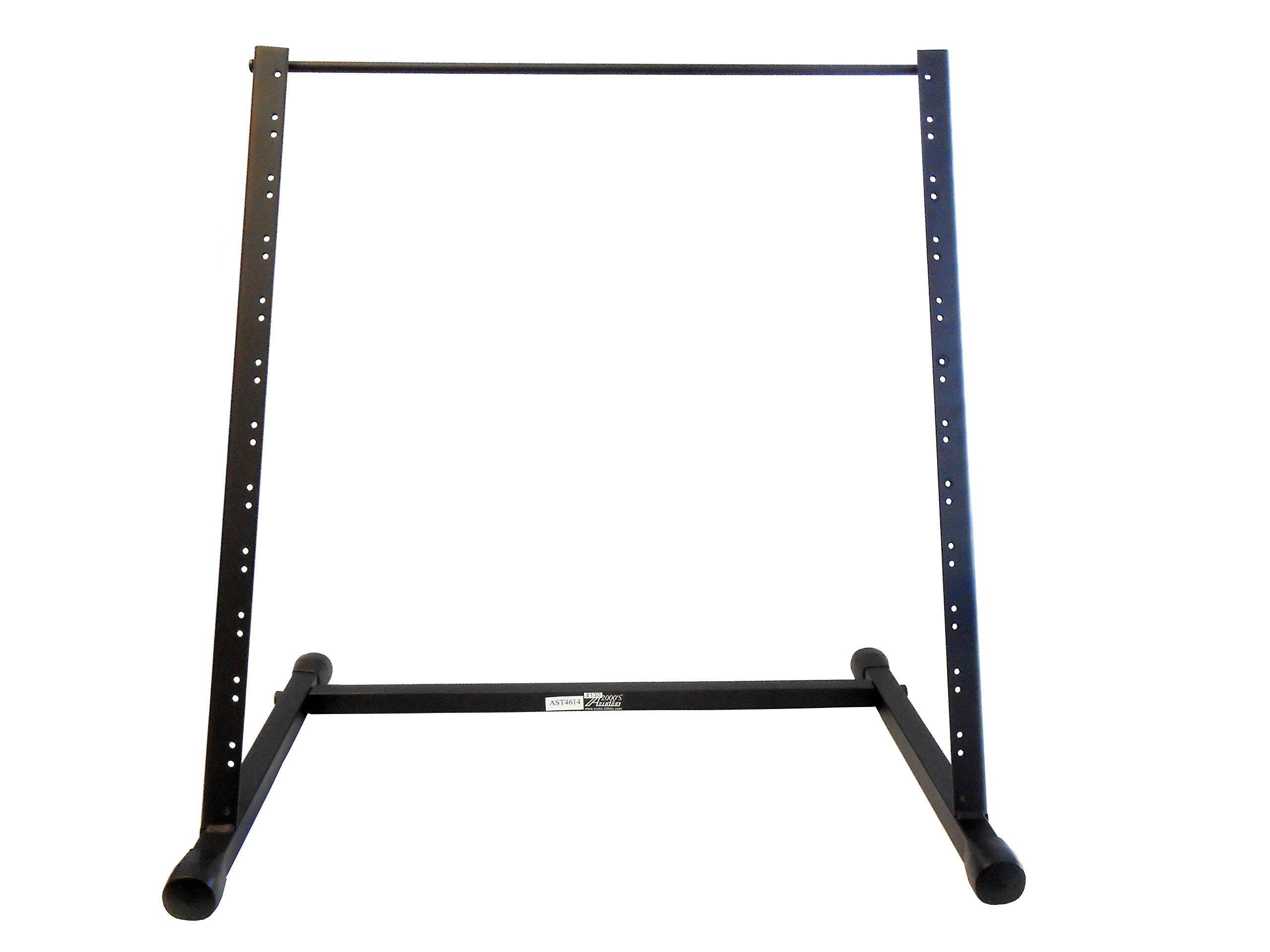 Audio2000'S AST4614 Steel Equipment Rack