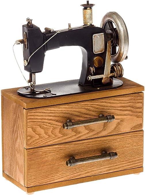 Aubaho Máquina de Coser sin función decoración alhajero Modelo ...