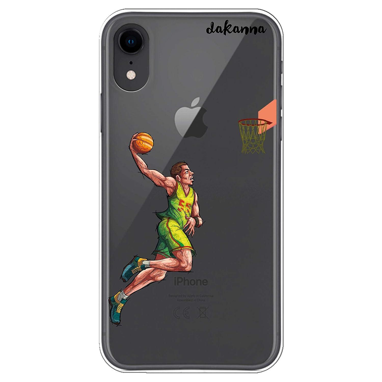 dakanna Funda para iPhone XR   Jugador de Baloncesto   Carcasa de ...
