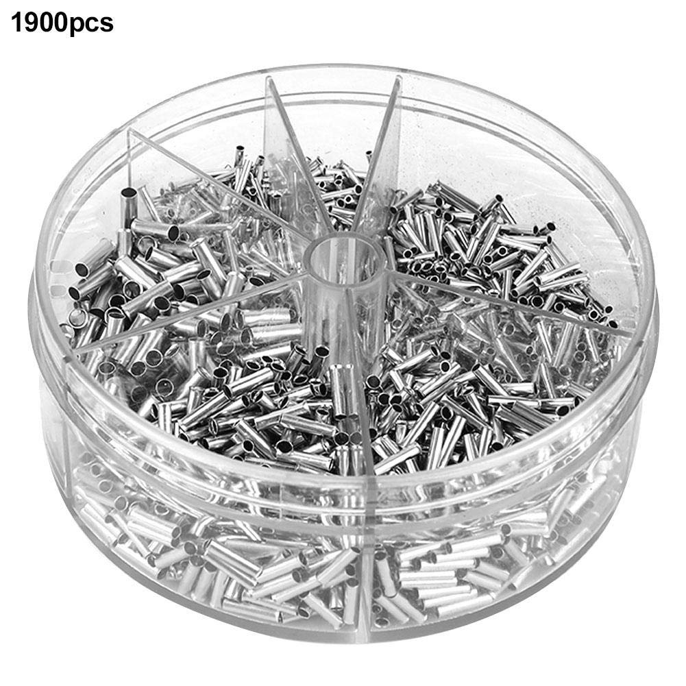 for Electrical Splice DIY Non-Insulated Wire Terminal Kit Terminals Connectors /& Terminals