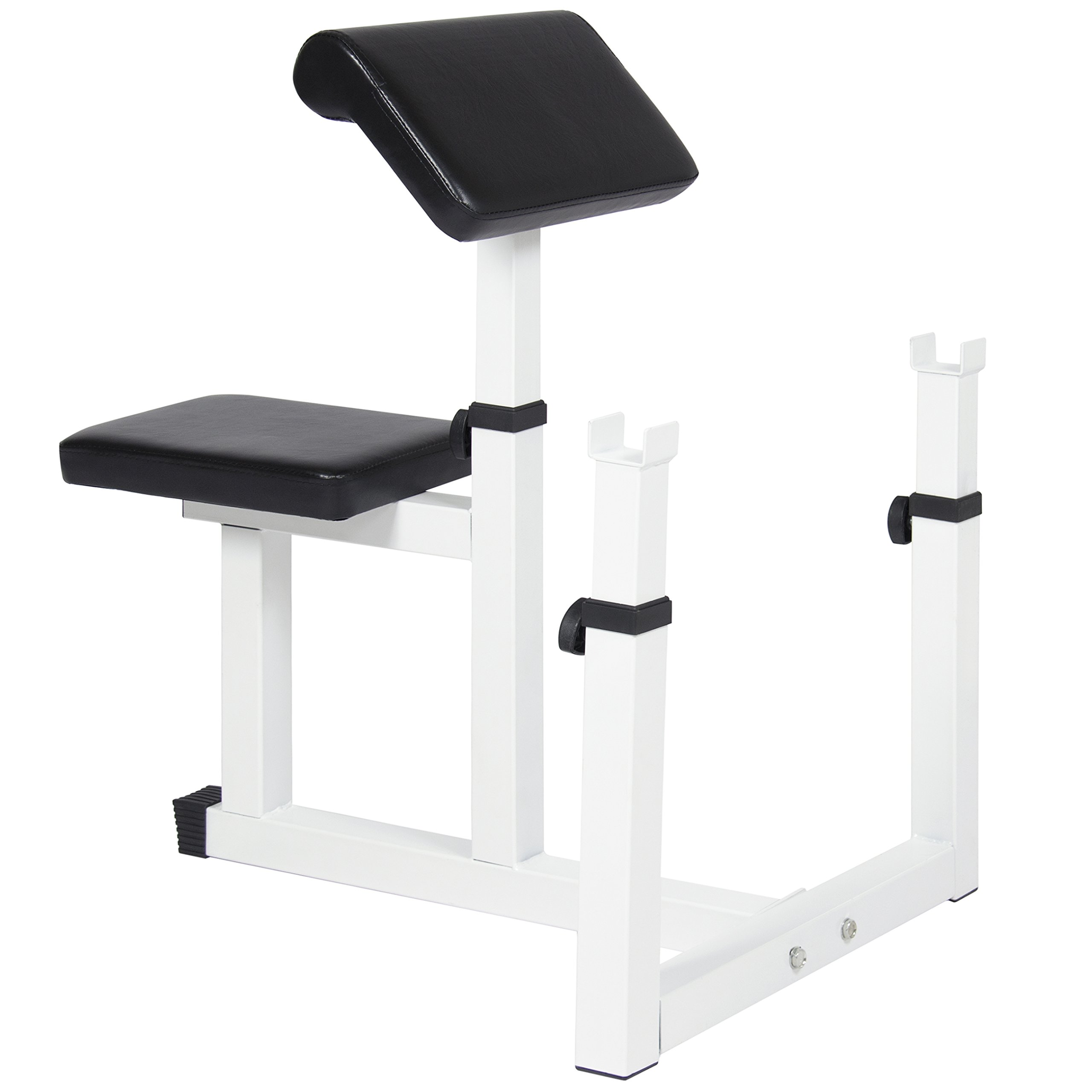 Best Choice Products Adjustable Preacher Arm Curl Bench Home Gym by Best Choice Products