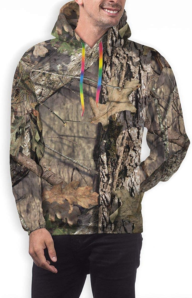 GUAHUAXIANG Athletic Pullover Hoodie Hooded Sweatshirt for Mens Camouflage Camo