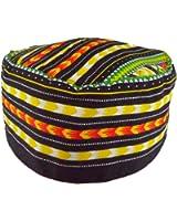 African Dashiki Hat Kente Pattern Kufi Kofi Hat Cap