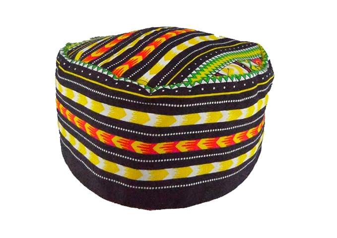 Vipada Handmade African Dashiki Hat Kente Pattern Kufi Kofi Hat Cap 3