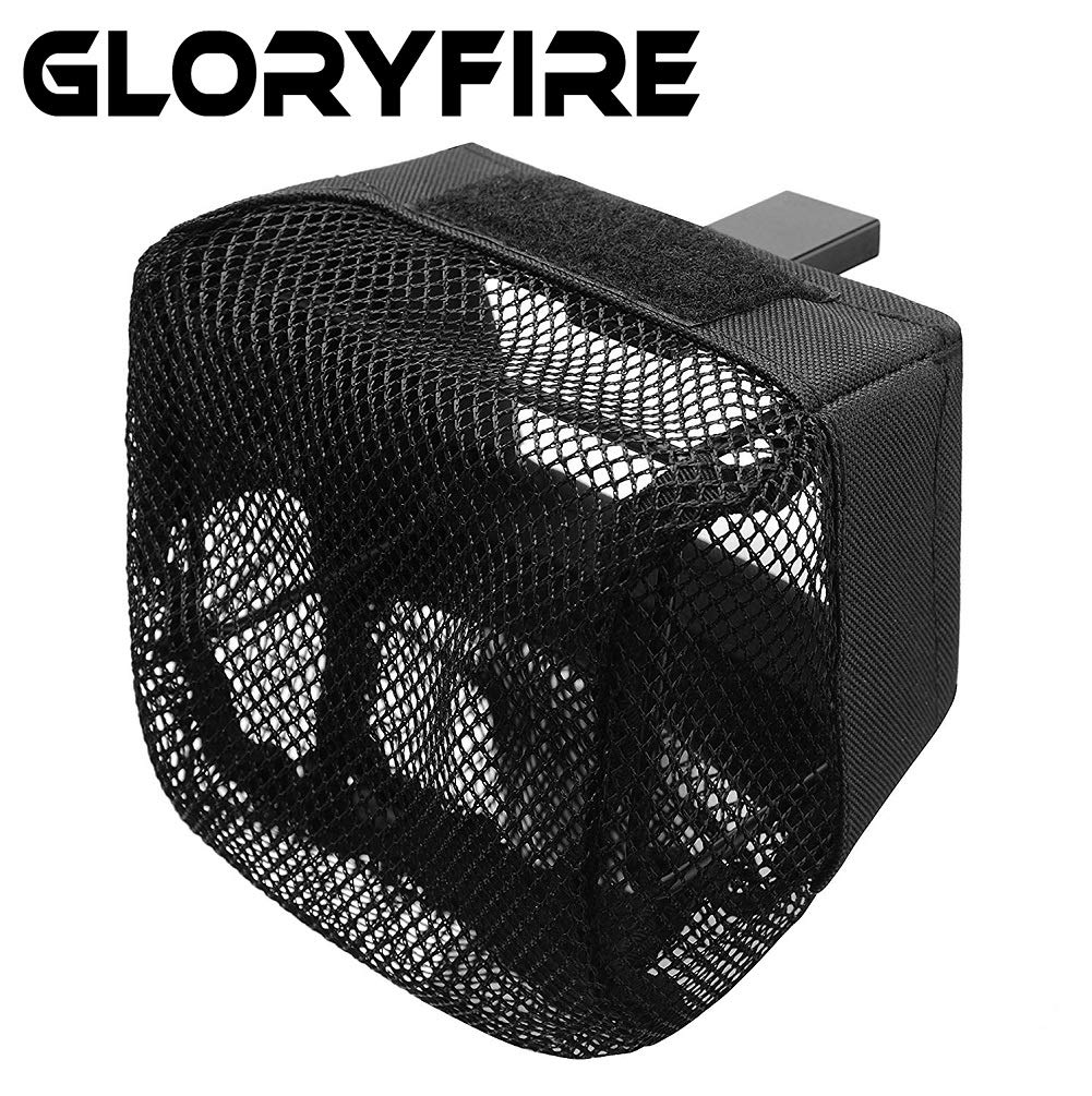 GLORYFIRE Pic Rail Brass Catcher with Heat Resistant Mesh and Zippered Bottom for Picatinny Mountable Quick Unload by GLORYFIRE