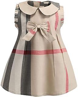 84e8fe6eb6 ZANDZ - Vestido de Princesa de algodón para niñas pequeñas