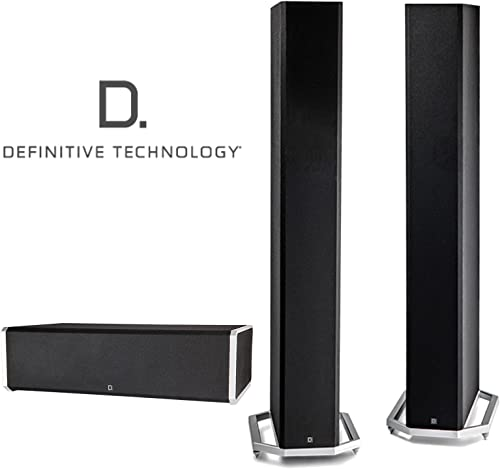 Definitive Technology Speaker Bundle with 2 BP9060 and 1 CS9060