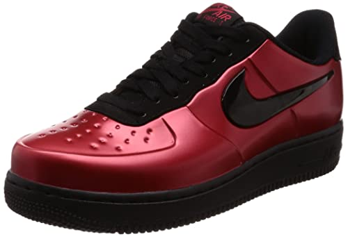 f5f472227eb Nike Men s Sneakers AF1 Foamposite PRO Cup in red Leather AJ3664-601   Amazon.co.uk  Shoes   Bags