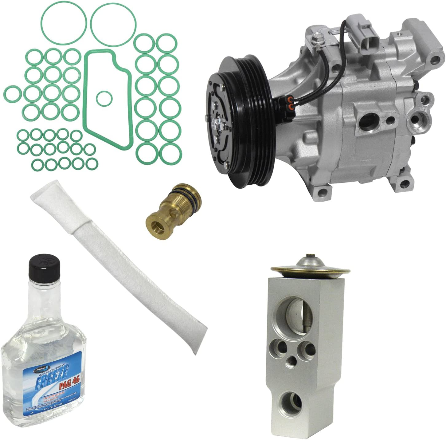 Universal Air Conditioner KT 3658 A//C Compressor and Component Kit