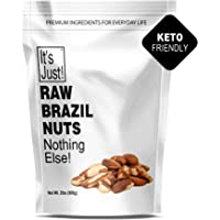 It's Just - Raw Brazil Nut (32oz / 2 Pounds), No PPO, Unsalted, Large Premium, Superior To Organic
