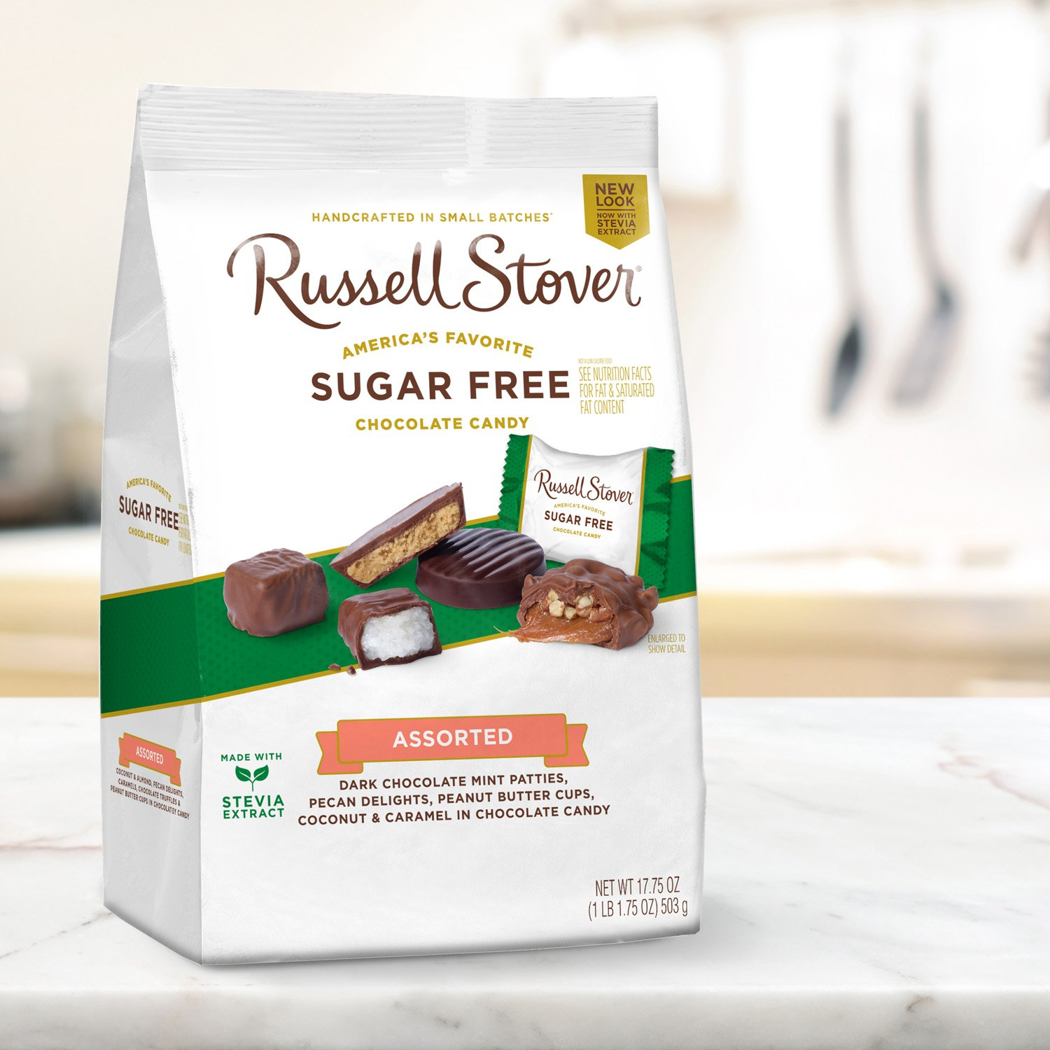 Russell Stover Sugar Free Assortment, 17.85 Ounce Bag, 4 Count by Russell Stover (Image #5)