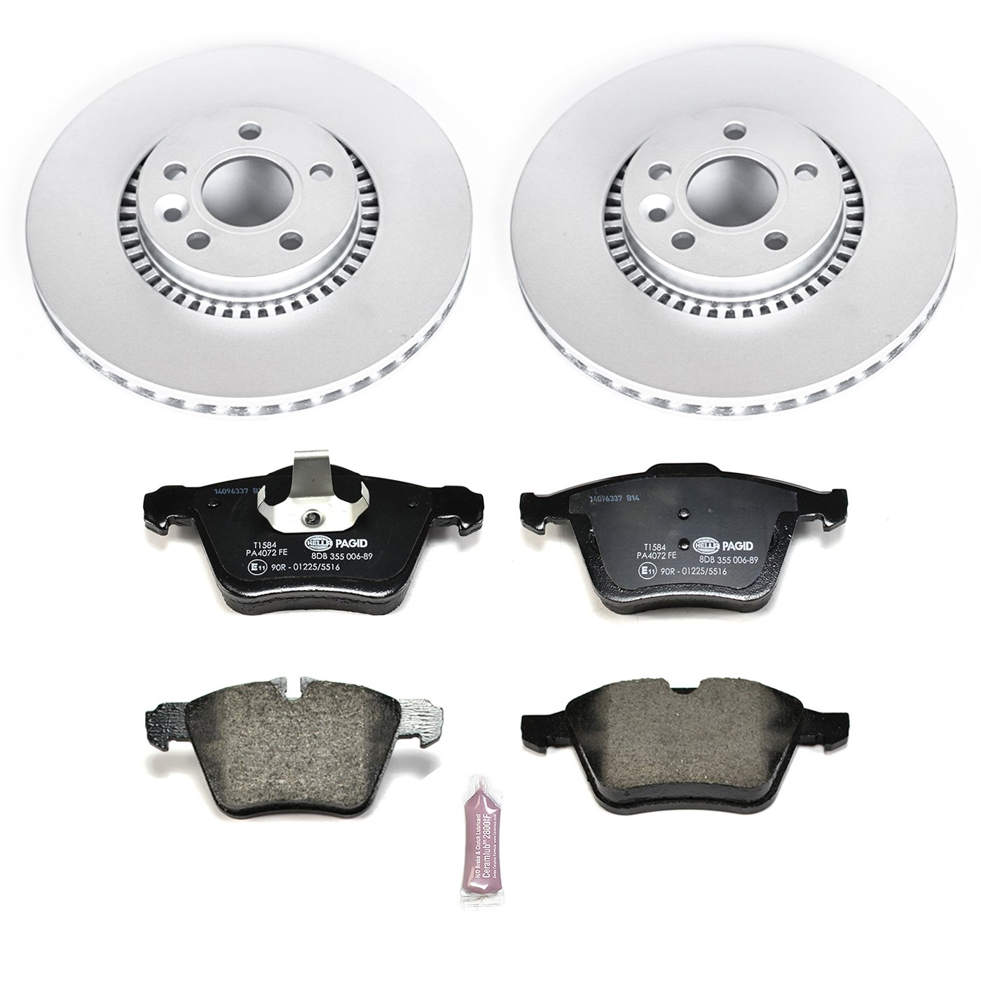 Power Stop ESK5613 Front Euro-Stop Brake Kit