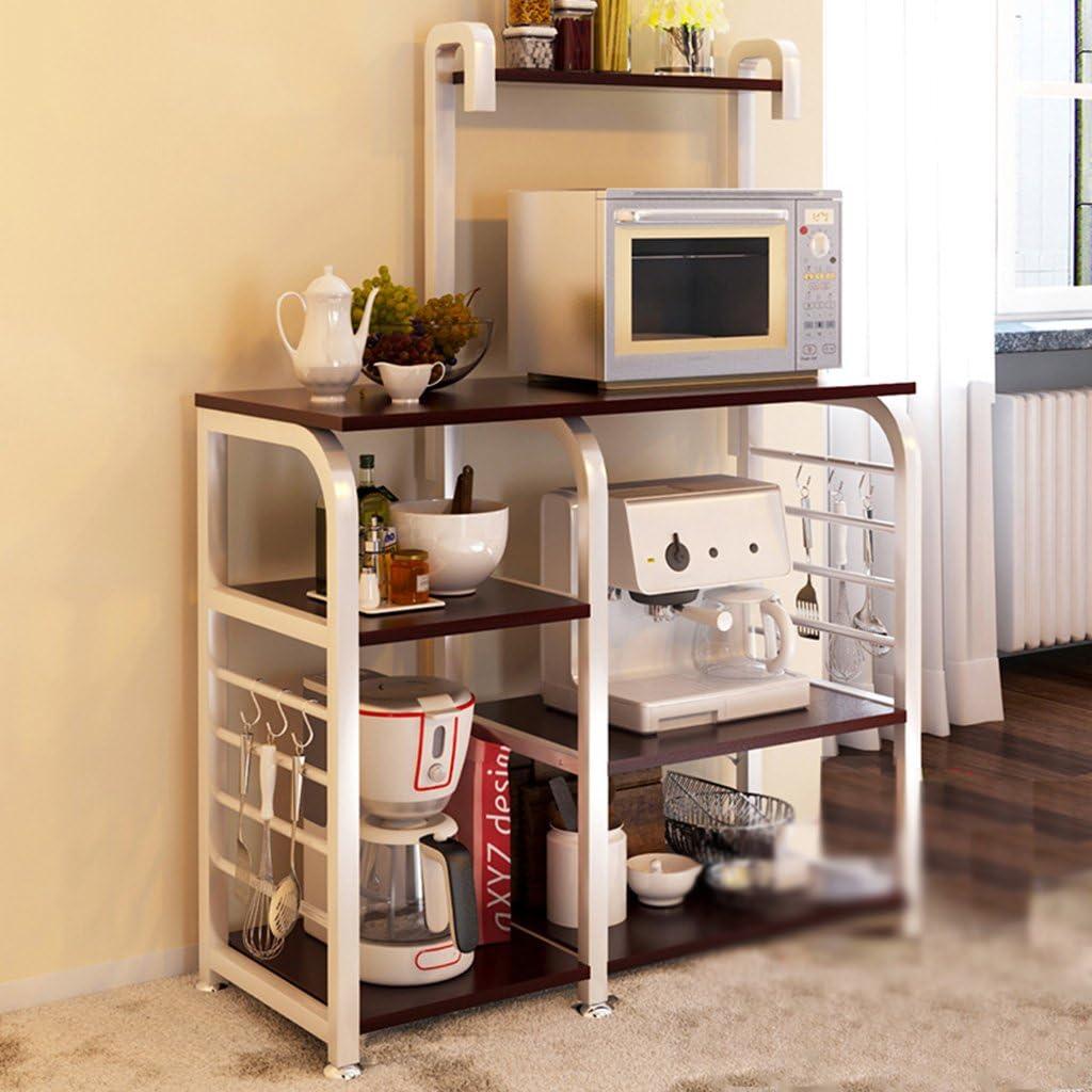 HORS Estante de cocina Horno microondas Estante Cocina Estante eléctrico Almacenamiento Estante Rack Rack Gabinete Aparato de cocina Estante multicapa Organizadores de cajones ( Color : #2 )