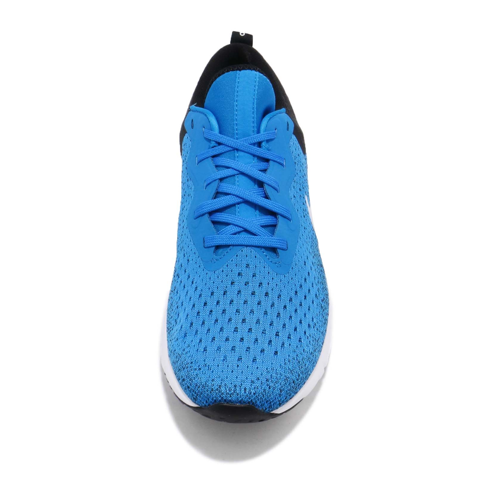 Nike Men's Odyssey React Running Shoes (7.5, Photo Blue/Black) by Nike (Image #5)