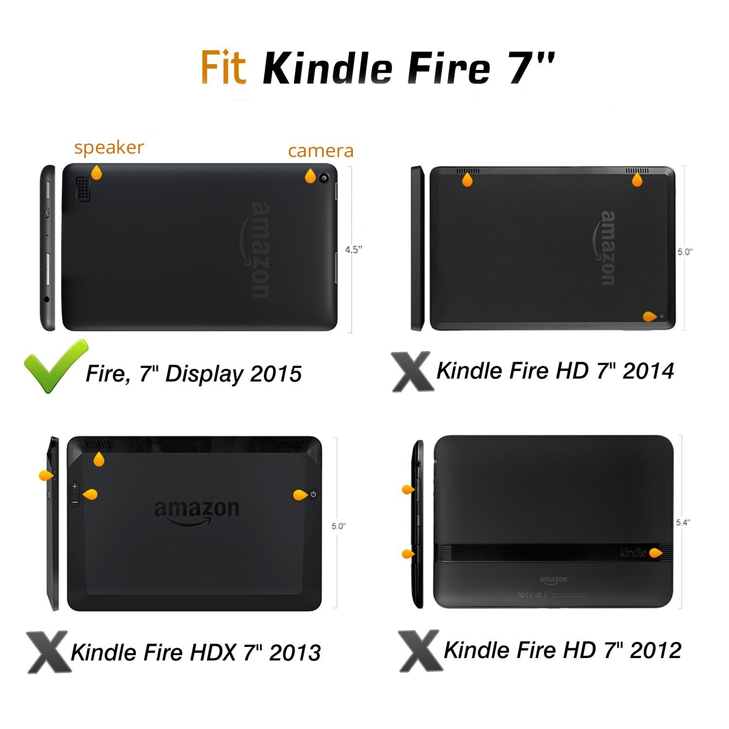 Kindle fire protective case kindle fire protective case images - Fire 7 2015 Kids Case Savfy Ultra Slim Lightweight Amazon Co Uk Electronics