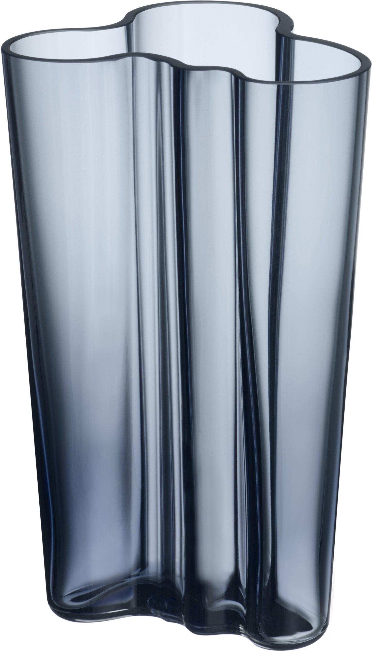 Iittala Aalto Finlandia Vase 7.75'' Rain by Iittala