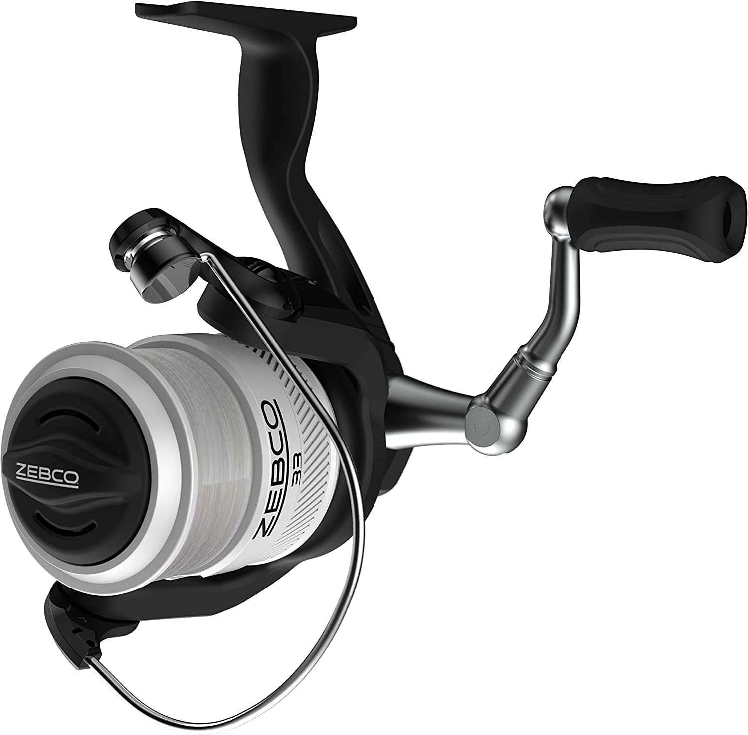 Zebco 33 Telescopic Spinning Reel and Fishing Rod Combo Convenient Telescoping Rod with a Pro-Style Handle Grip and Quickset Anti-Reverse Fishing Reel