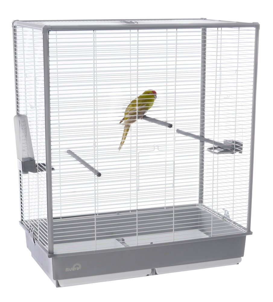 Liberta UK All New Stylish Riviera ICE Bird Cage, 5.5 by 28-Inch