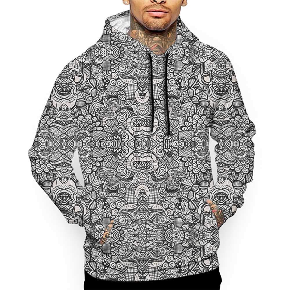 Hoodies Sweatshirt Pockets Zodiac Sagittarius,Doodle Archer,Zip up Sweatshirts for Women