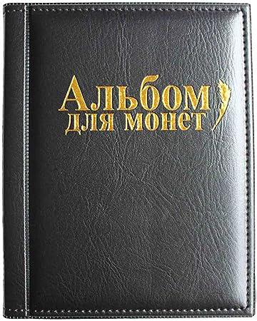 Comprar VORCOOL Album Monedas Coleccion 250 Bolsillos (Negro)