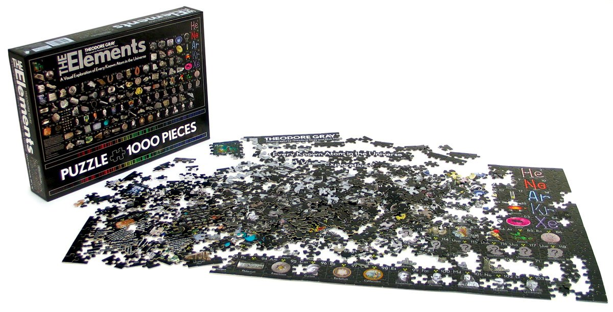 Amazon periodic table jigsaw puzzle industrial scientific urtaz Image collections