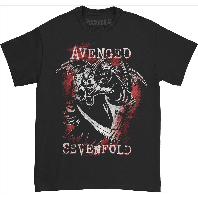Avenged Sevenfold Men's A7X Reaper T-Shirt Black