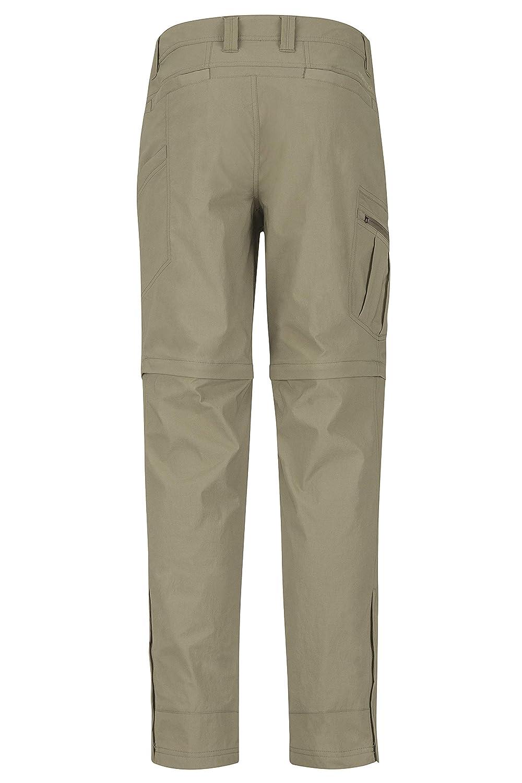 Marmot Transcend Convertible Pant Pantalones de Trekking Largos con Perneras extra/íbles Zip Off Hombre al Aire Libre