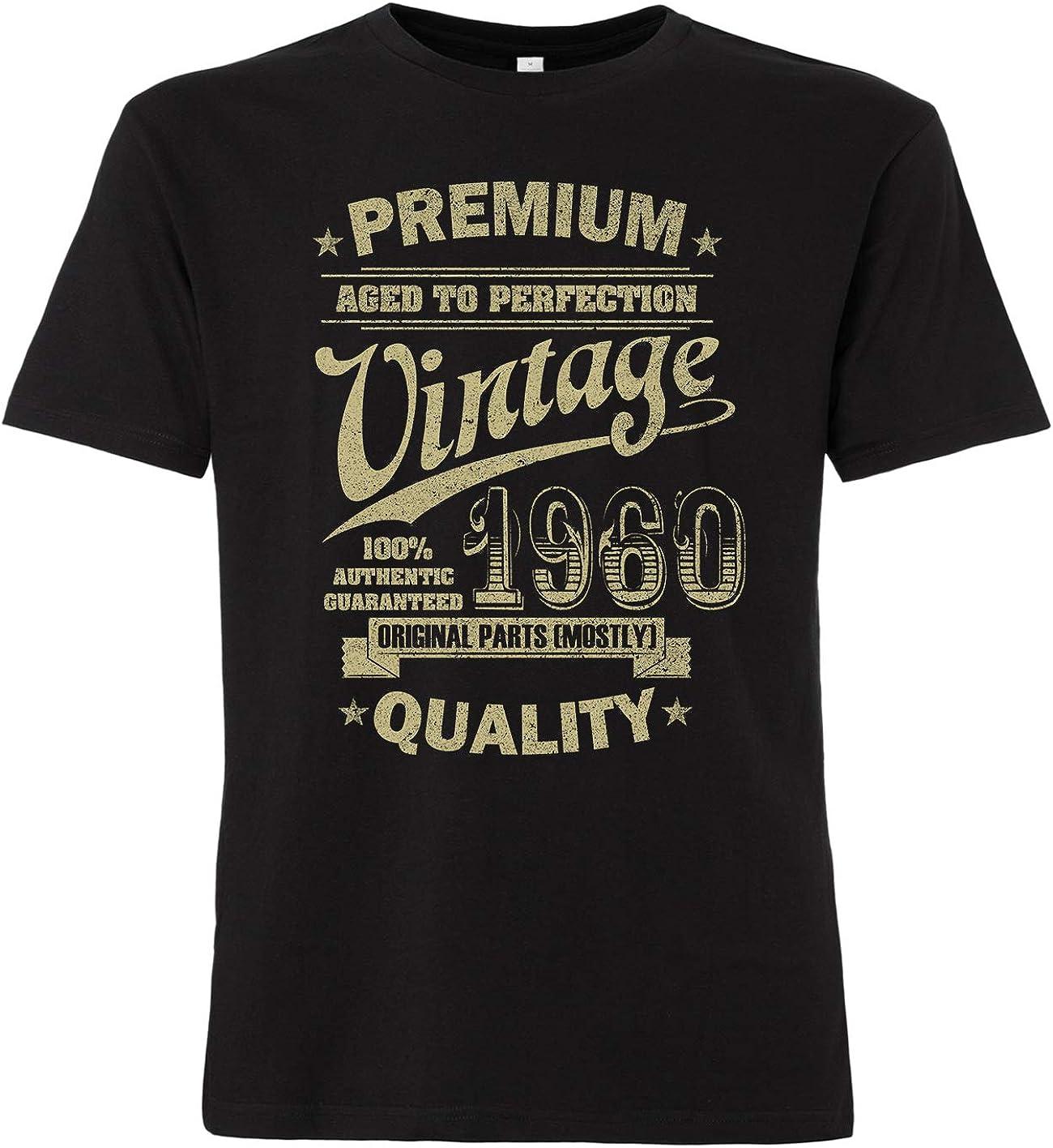 OutlawTex Aged to Perfection 1960 Maglietta da uomo per 60/° compleanno
