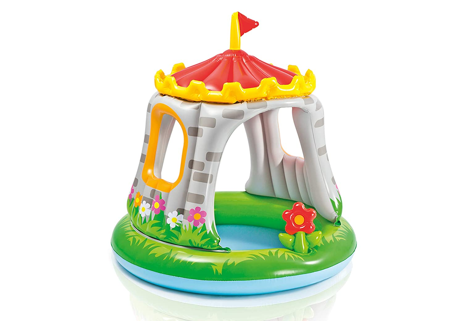 Intex 57122NP - Piscina hinchable castillo & flor 122 x 122 cm 74 ...