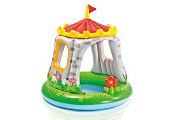 Intex 57122NP - Piscina hinchable castillo & flor 122 x 122 cm 74 litros