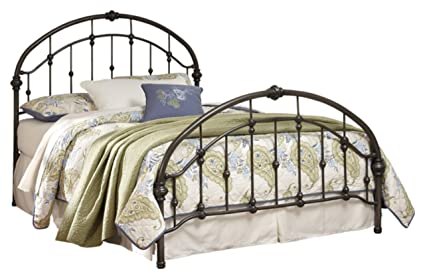 Excellent Ashley Furniture Signature Design Nashburg Metal Bed Complete Headboard And Footboard With Rails King Bronze Finish Beutiful Home Inspiration Truamahrainfo