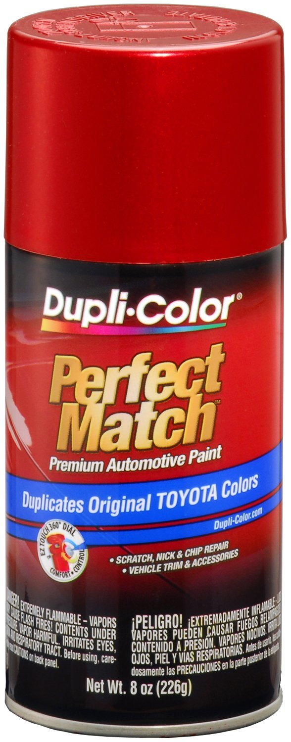 Dupli-Color BTY 1609 Red Pearl Toyota Exact Match Automotive Paint- 8 oz. Aerosol