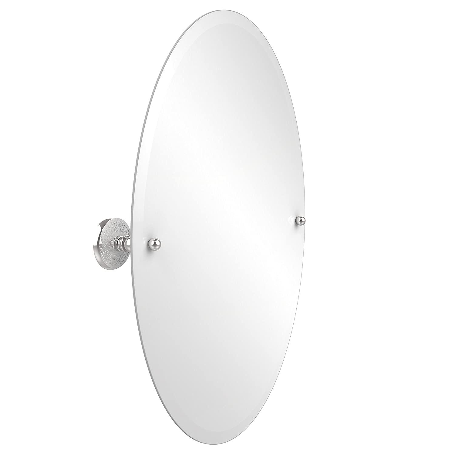 Allied Brass PMC-91-PC 29-Inch X 21-Inch Oval Tilt Mirror, Polished Chrome by Allied Brass B008NYVSE2  光沢クロム