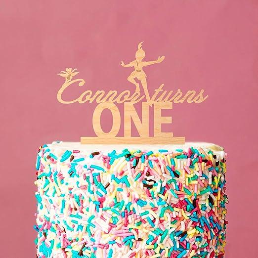 Decoración para tarta de cumpleaños, Peter Pan, Neverland ...