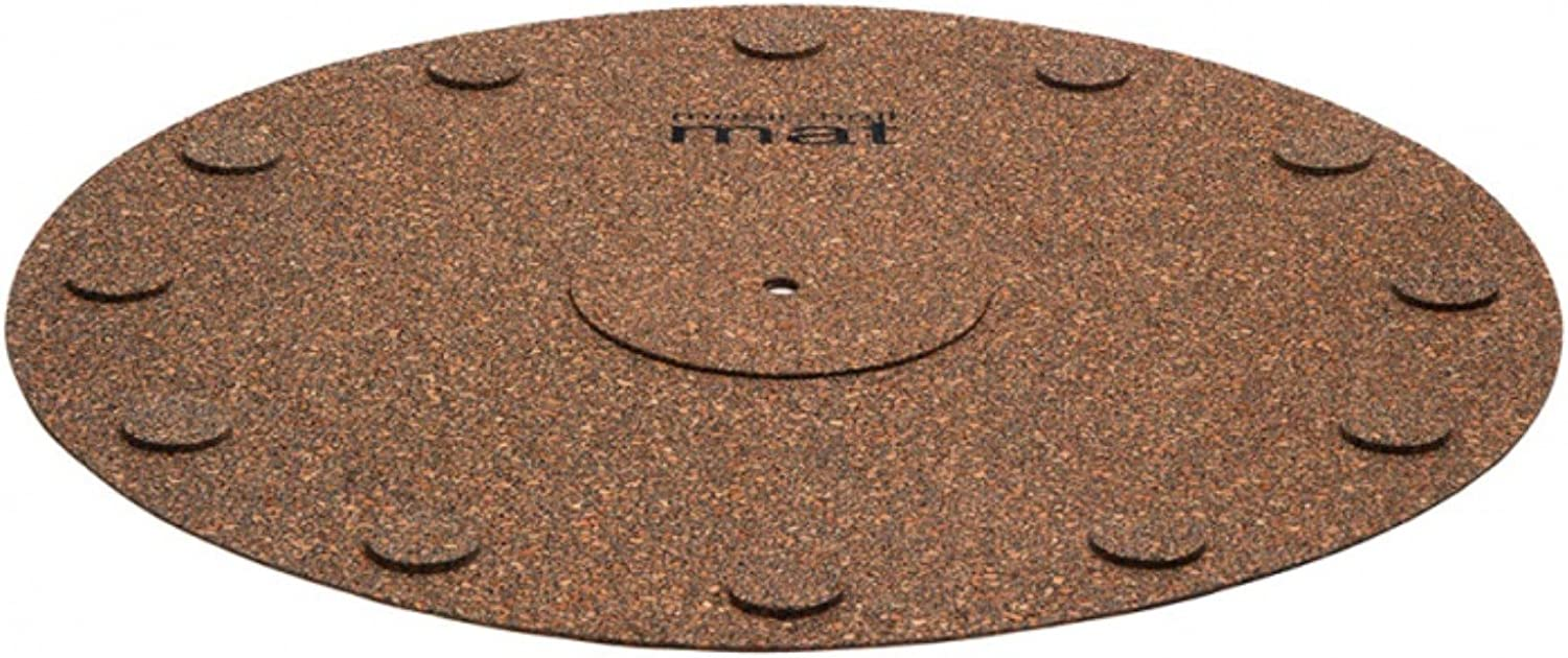 5. Music Hall MAT Decoupling Cork Mat: Improved stylus tracking, clear vocals and richer sound, eliminates unwanted vibrations