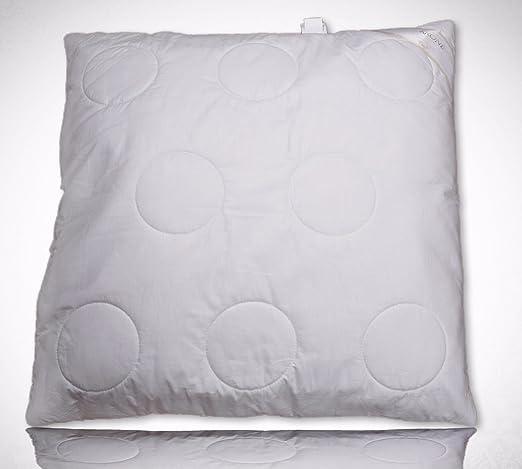 Cojín almohada 80 x 80 - Almohada de Dormir Natural 1200 g ...