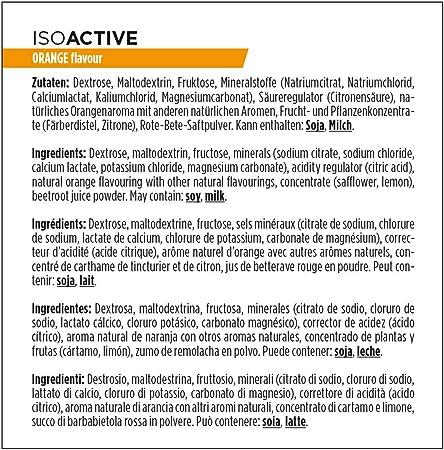 PowerBar Isoactive Orange 600g - Bebida Deportiva Isotónica - 5 Electrolitos + C2MAX: Amazon.es: Salud y cuidado personal