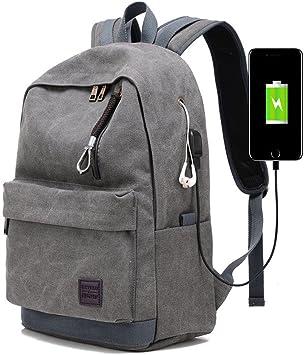QYXANG Mochila para computadora Portátil Unisex Travel Daypack ...