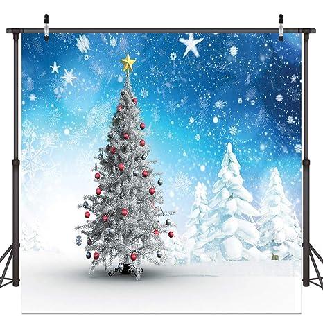 Christmas Candyland Backdrop.Dudaacvt 8x8ft Christmas Photo Backdrop Winter Background Christmas Tree Snowflake Theme Photo Backdrop Wedding Background D0810808