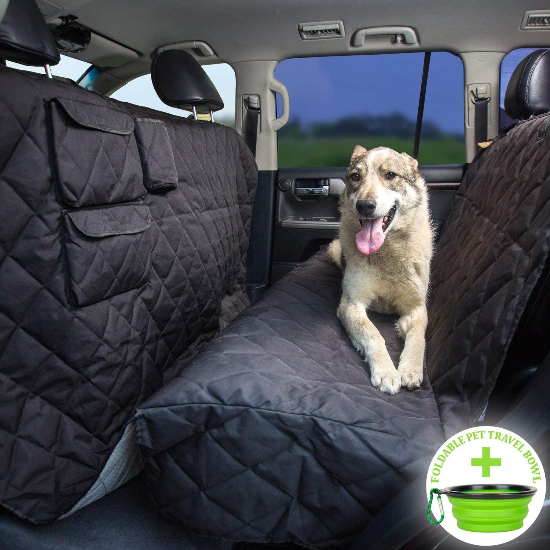 Dog Seat Covers For Trucks >> Tapiona Xl Dog Seat Cover Truck Suv Extra Coverage Back Seat Cover 63wx94l Large Pets Hammock Heavy Duty Waterproof Nonslip No Odor Seat